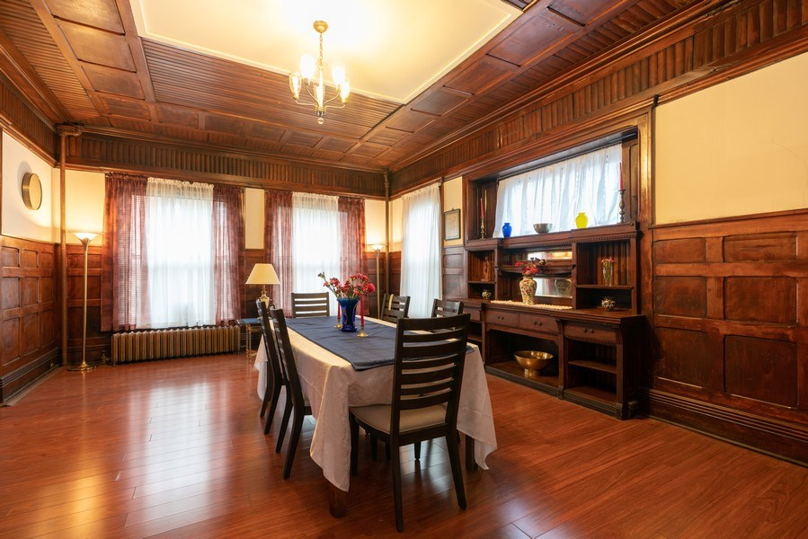 Real Estate Photography - 3601 S. Michigan Avenue, Chicago, IL, 60653 - Dining Room