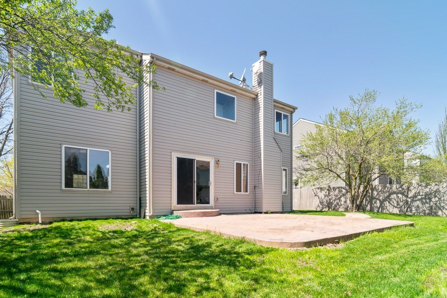 Real Estate Photography - 219 Faircroft Road, Bartlett, IL, 60103 - Rear View
