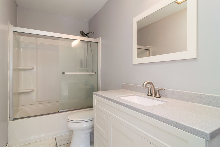 Real Estate Photography - 219 Faircroft Road, Bartlett, IL, 60103 - Bathroom