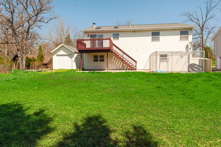 Real Estate Photography - 1107 Park Lane, Spring Grove, IL, 60081 - Rear View