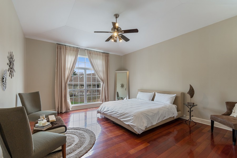 Real Estate Photography - 1619 William Penn Drive, Naperville, IL, 60563 - Master Bedroom