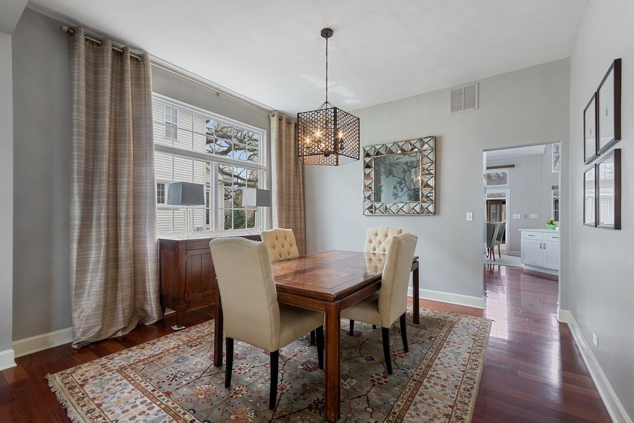 Real Estate Photography - 1619 William Penn Drive, Naperville, IL, 60563 - Dining Room