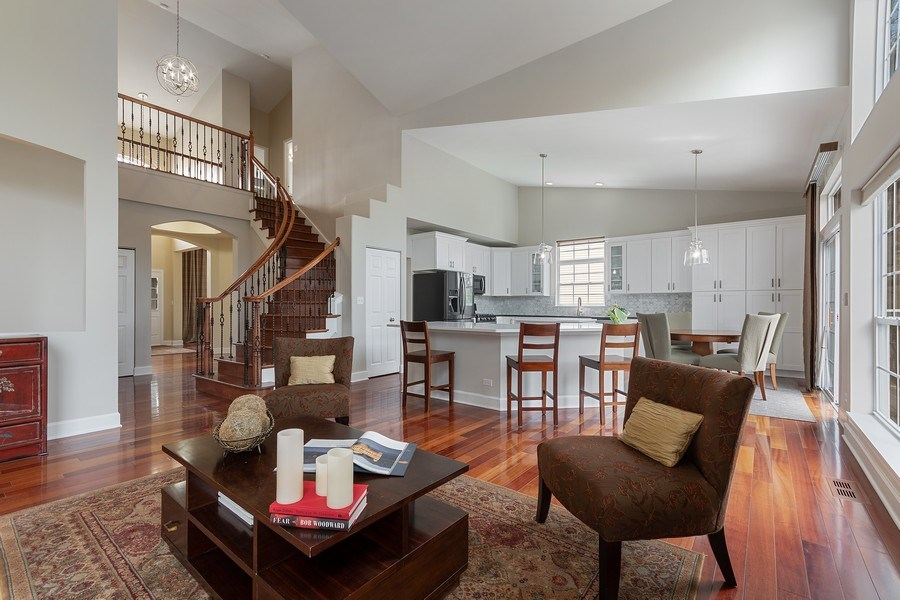 Real Estate Photography - 1619 William Penn Drive, Naperville, IL, 60563 - Family Room