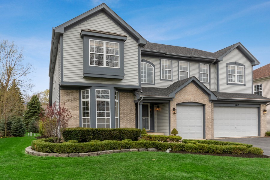 Real Estate Photography - 1619 William Penn Drive, Naperville, IL, 60563 - Front View