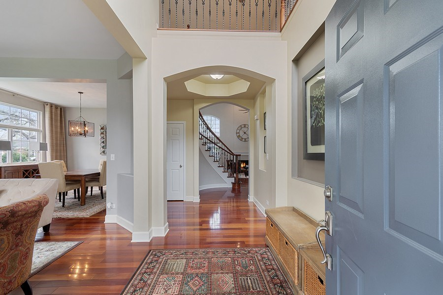 Real Estate Photography - 1619 William Penn Drive, Naperville, IL, 60563 - Foyer