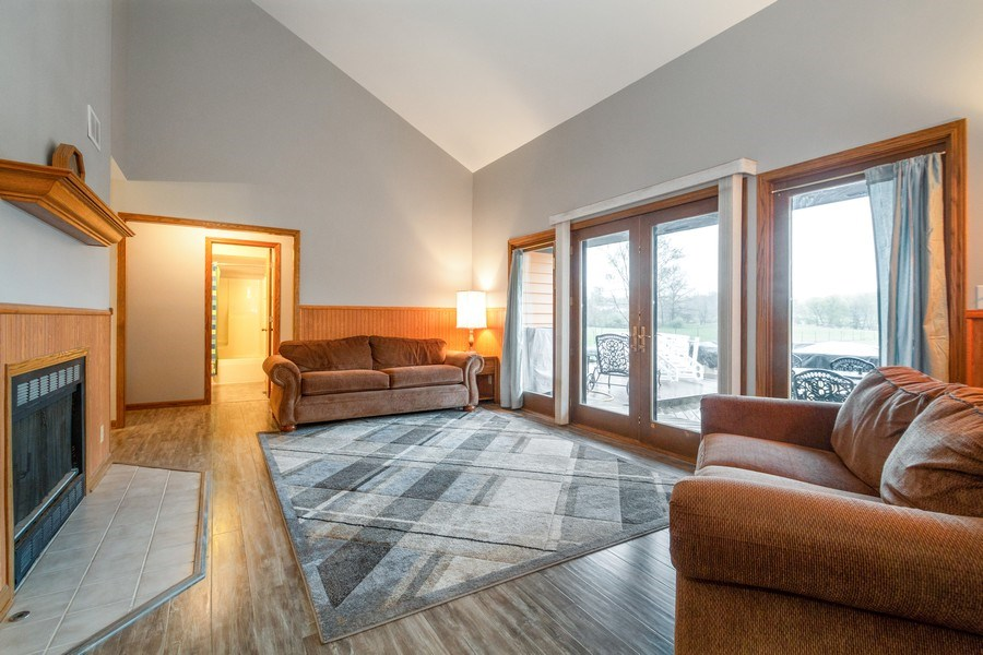 Real Estate Photography - 5201 Irish Lane, Harvard, IL, 60033 - Living Room