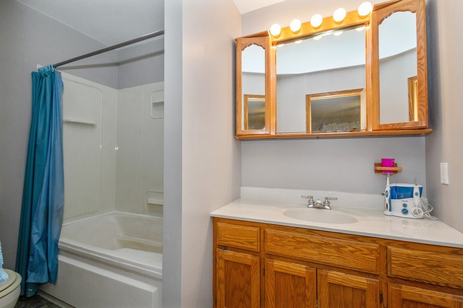 Real Estate Photography - 5201 Irish Lane, Harvard, IL, 60033 - Master Bathroom