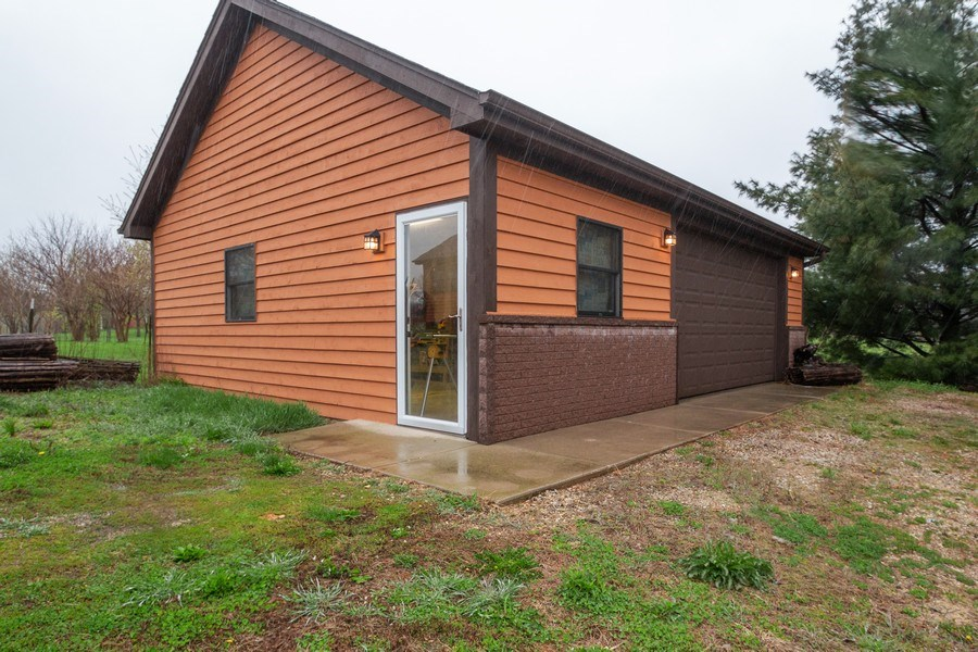 Real Estate Photography - 5201 Irish Lane, Harvard, IL, 60033 - Master Bedroom Closet