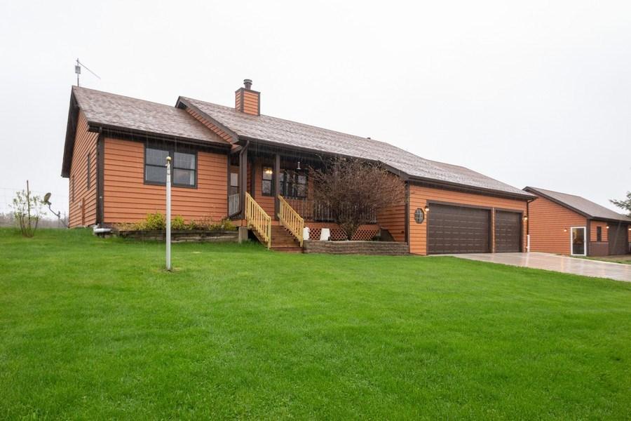 Real Estate Photography - 5201 Irish Lane, Harvard, IL, 60033 - Front View