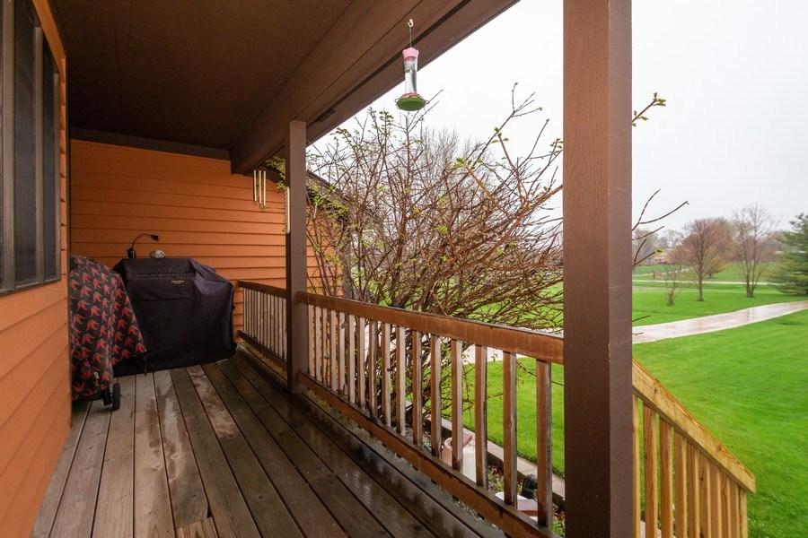 Real Estate Photography - 5201 Irish Lane, Harvard, IL, 60033 - Porch