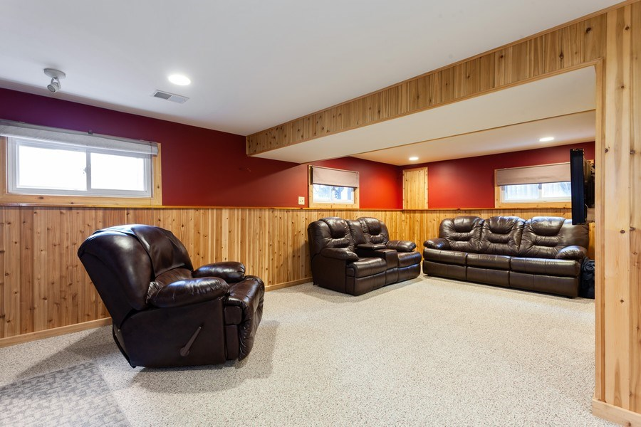 Real Estate Photography - 4527 W. Howdy Lane, Alsip, IL, 60803 - Family Room