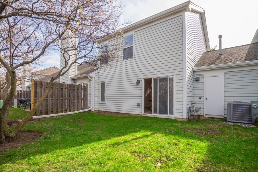 Real Estate Photography - 1713 W. Portsmith Lane, Arlington Heights, IL, 60004 - Rear View
