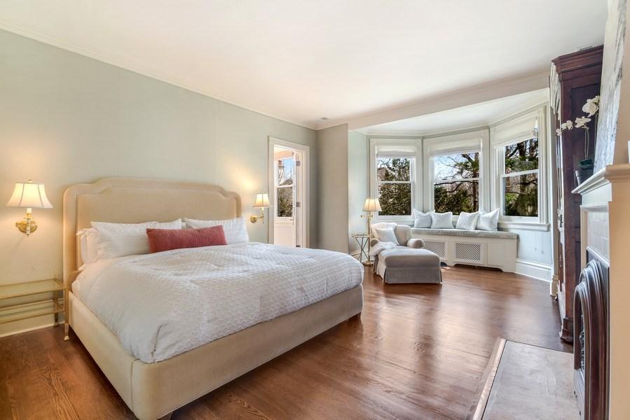 Real Estate Photography - 515 Greenleaf Avenue, Glencoe, IL, 60022 - Master Bedroom