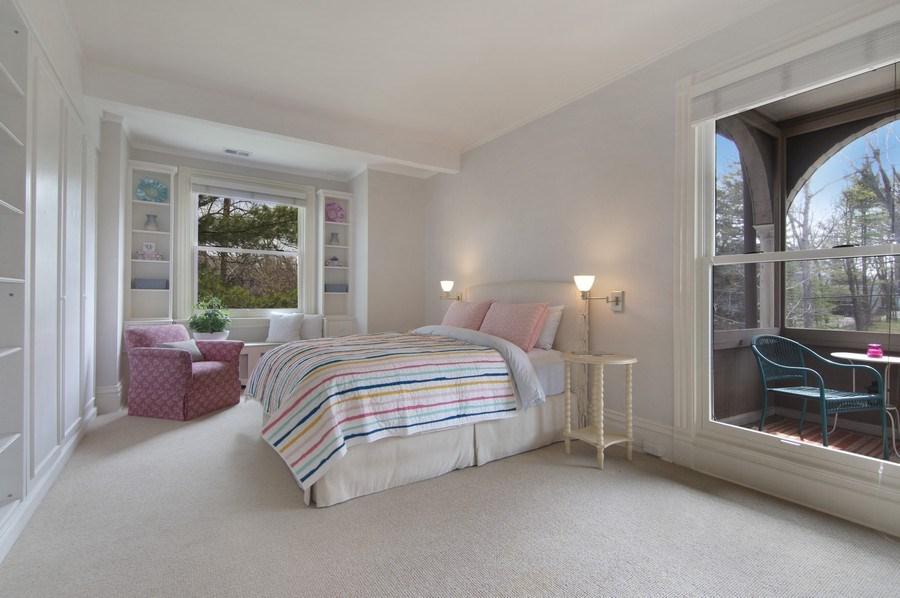 Real Estate Photography - 515 Greenleaf Avenue, Glencoe, IL, 60022 - 2nd Bedroom
