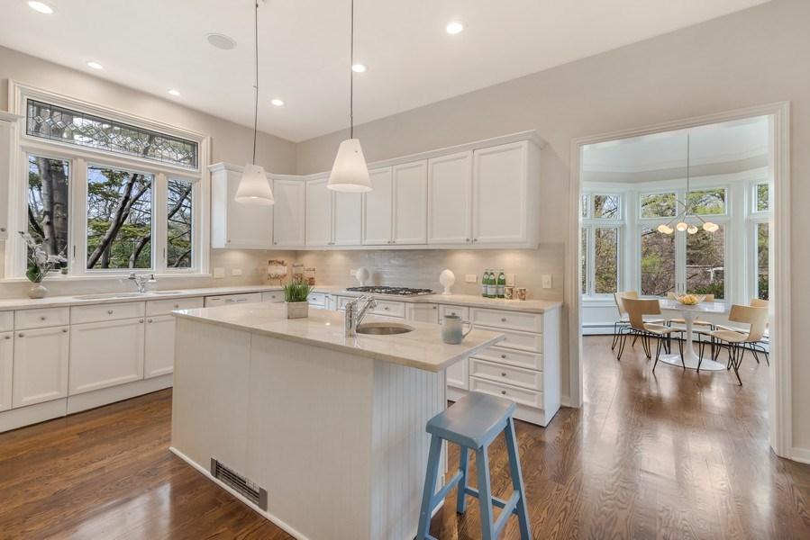 Real Estate Photography - 515 Greenleaf Avenue, Glencoe, IL, 60022 - Kitchen / Breakfast Room