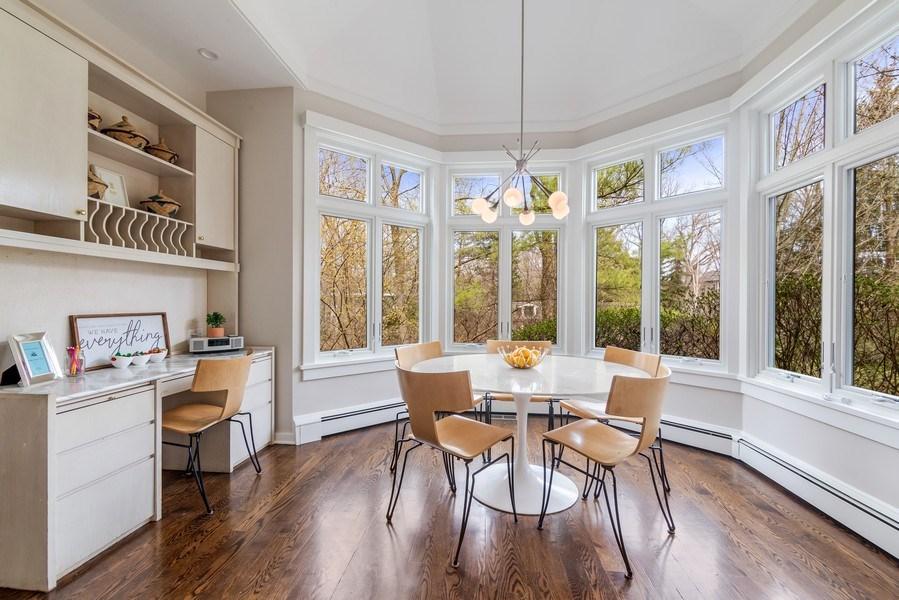 Real Estate Photography - 515 Greenleaf Avenue, Glencoe, IL, 60022 - Breakfast Area