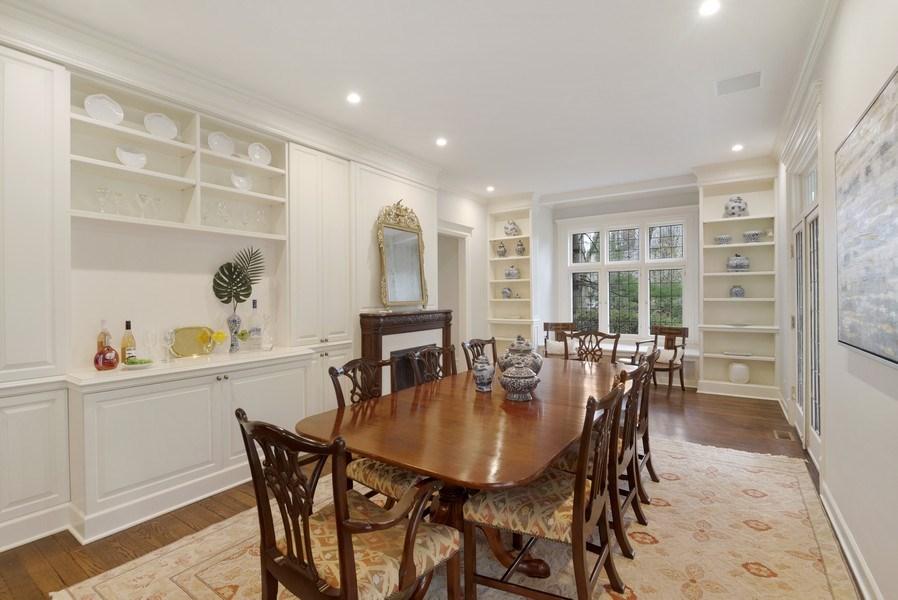 Real Estate Photography - 515 Greenleaf Avenue, Glencoe, IL, 60022 - Dining Room