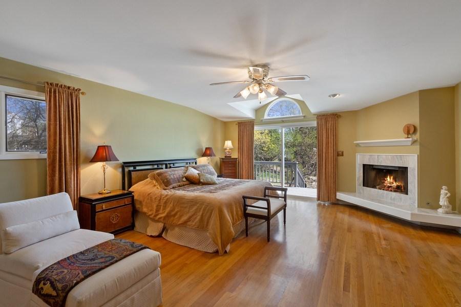 Real Estate Photography - 53 W. Lake Shore Drive, Barrington, IL, 60010 - Master Bedroom