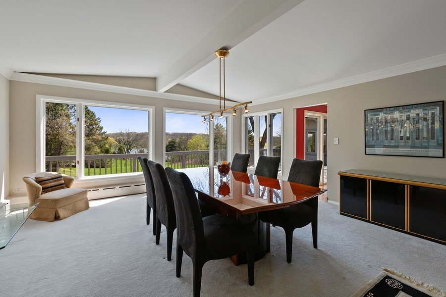 Real Estate Photography - 53 W. Lake Shore Drive, Barrington, IL, 60010 - Dining Room