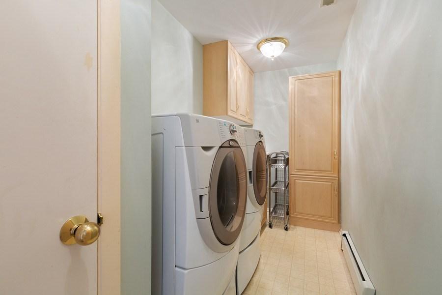 Real Estate Photography - 53 W. Lake Shore Drive, Barrington, IL, 60010 - Laundry Room