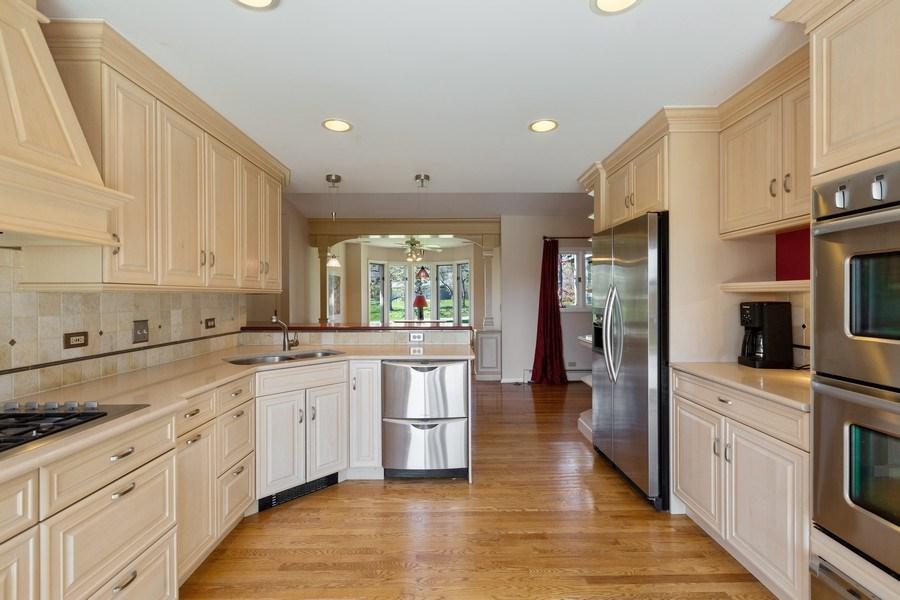Real Estate Photography - 53 W. Lake Shore Drive, Barrington, IL, 60010 - Kitchen