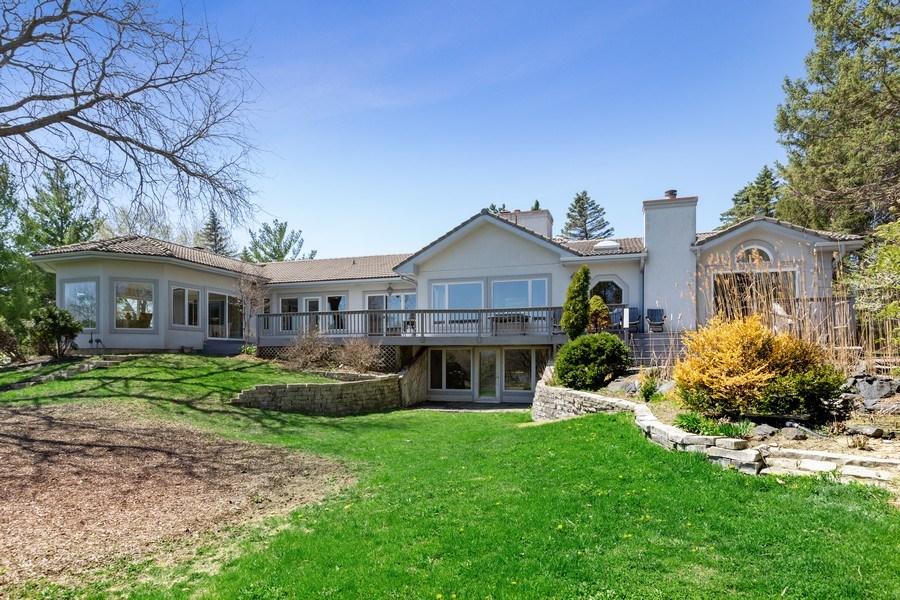 Real Estate Photography - 53 W. Lake Shore Drive, Barrington, IL, 60010 - Rear View