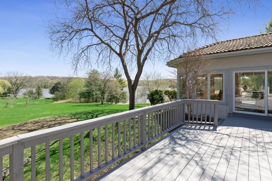 Real Estate Photography - 53 W. Lake Shore Drive, Barrington, IL, 60010 - Deck