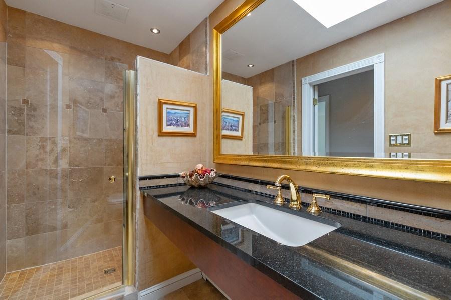 Real Estate Photography - 53 W. Lake Shore Drive, Barrington, IL, 60010 - 2nd Bathroom