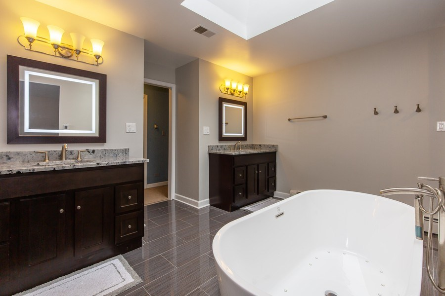 Real Estate Photography - 5644 N. Natoma Avenue, Chicago, IL, 60631 - Master Bathroom