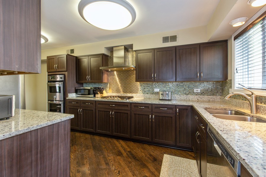 Real Estate Photography - 5644 N. Natoma Avenue, Chicago, IL, 60631 - Kitchen
