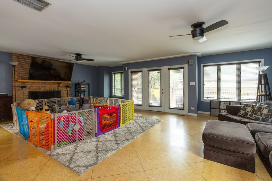 Real Estate Photography - 5644 N. Natoma Avenue, Chicago, IL, 60631 - Family Room