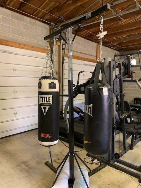 Real Estate Photography - 5644 N. Natoma Avenue, Chicago, IL, 60631 - Garage gym area