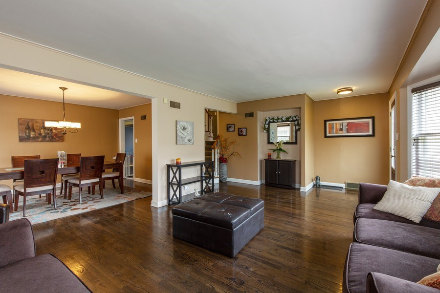 Real Estate Photography - 5644 N. Natoma Avenue, Chicago, IL, 60631 - Living Room / Dining Room