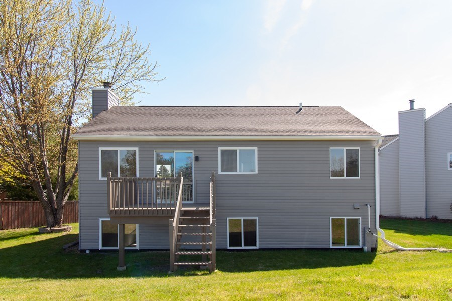 Real Estate Photography - 2860 Conifer Court, Aurora, IL, 60502 - Rear View