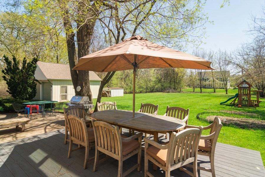 Real Estate Photography - 271 W. Michigan Avenue, Palatine, IL, 60067 - Deck