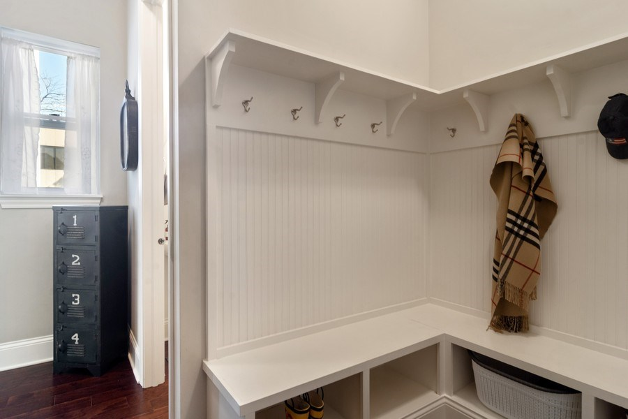 Real Estate Photography - 1432 Somerset Place, Barrington, IL, 60010 - Mudroom