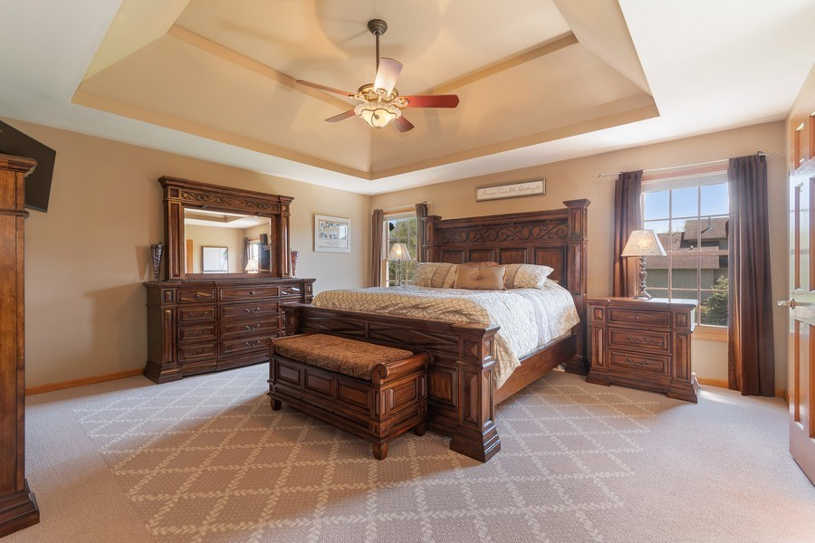 Real Estate Photography - 630 Ekman Drive, Batavia, IL, 60510 - Master Bedroom