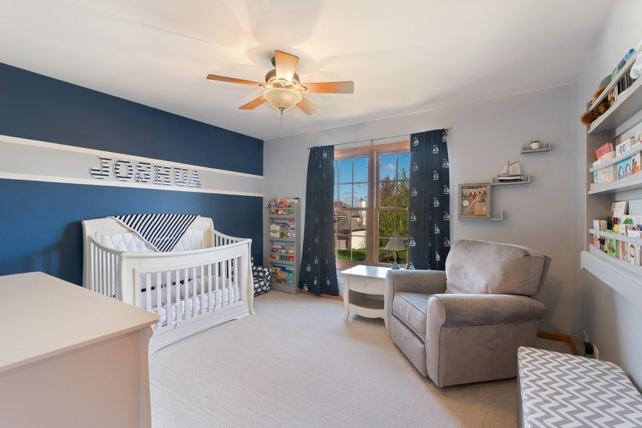 Real Estate Photography - 630 Ekman Drive, Batavia, IL, 60510 - 2nd Bedroom