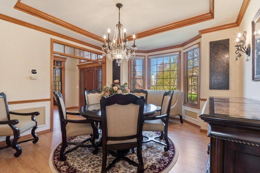 Real Estate Photography - 630 Ekman Drive, Batavia, IL, 60510 - Dining Room
