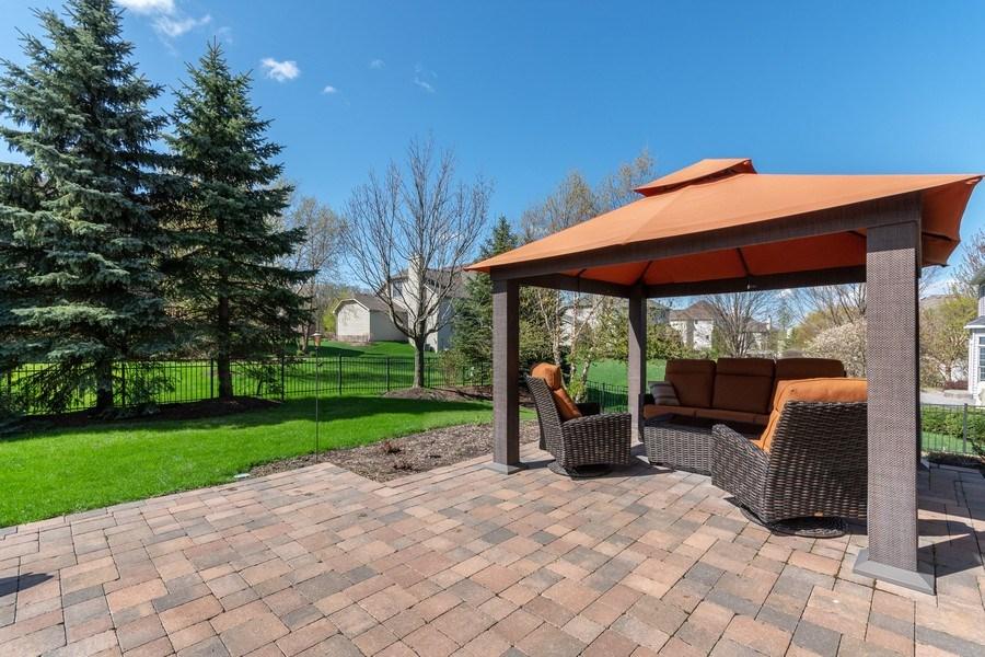Real Estate Photography - 630 Ekman Drive, Batavia, IL, 60510 - Pergola