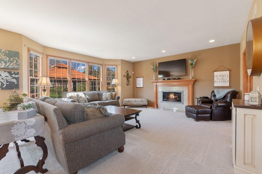 Real Estate Photography - 630 Ekman Drive, Batavia, IL, 60510 - Family Room
