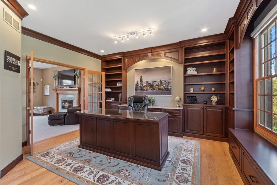 Real Estate Photography - 630 Ekman Drive, Batavia, IL, 60510 - Den