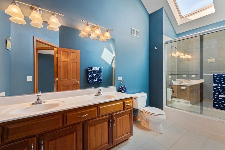 Real Estate Photography - 630 Ekman Drive, Batavia, IL, 60510 - 2nd Bathroom