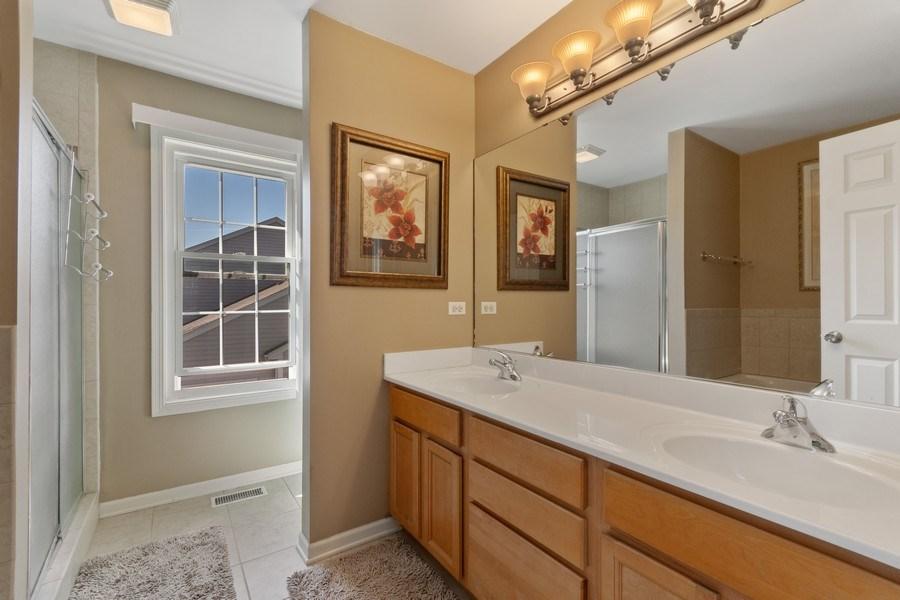 Real Estate Photography - 1407 Blume Drive, Elgin, IL, 60124 - Master Bathroom
