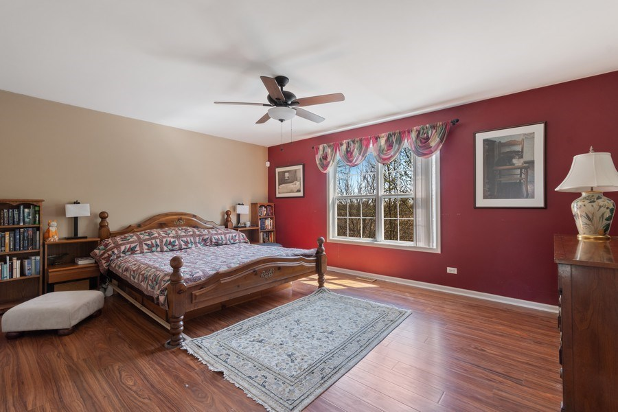 Real Estate Photography - 1407 Blume Drive, Elgin, IL, 60124 - Master Bedroom