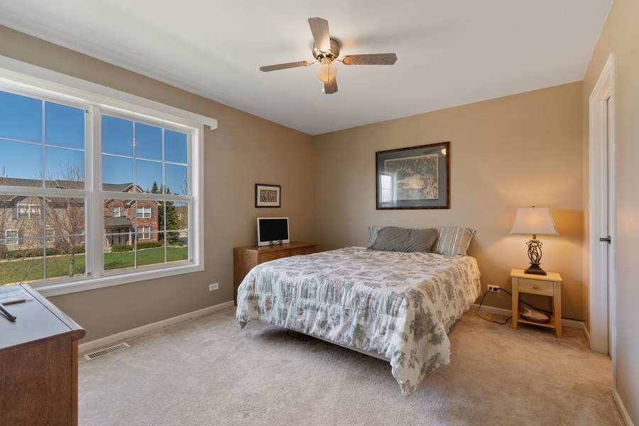 Real Estate Photography - 1407 Blume Drive, Elgin, IL, 60124 - 4th Bedroom