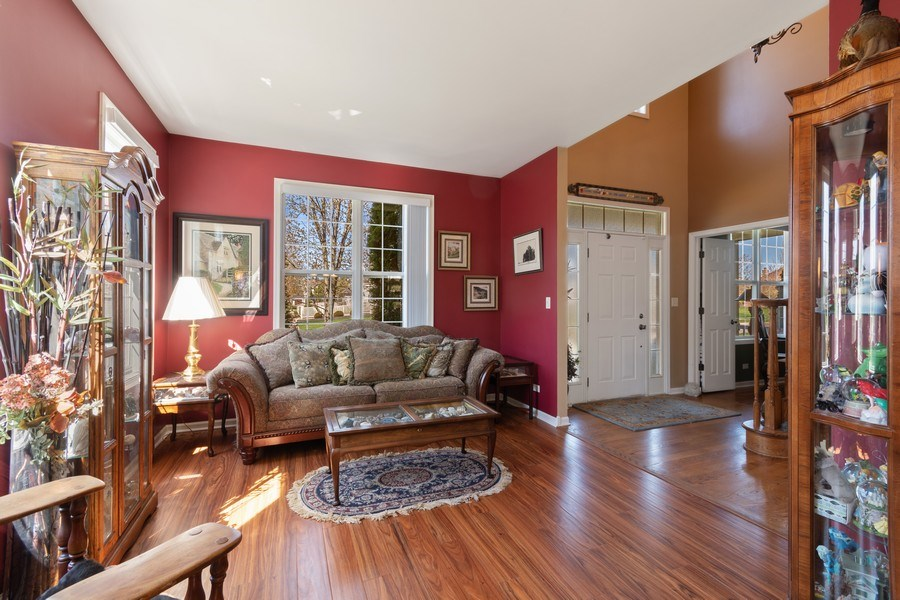 Real Estate Photography - 1407 Blume Drive, Elgin, IL, 60124 - Living Room