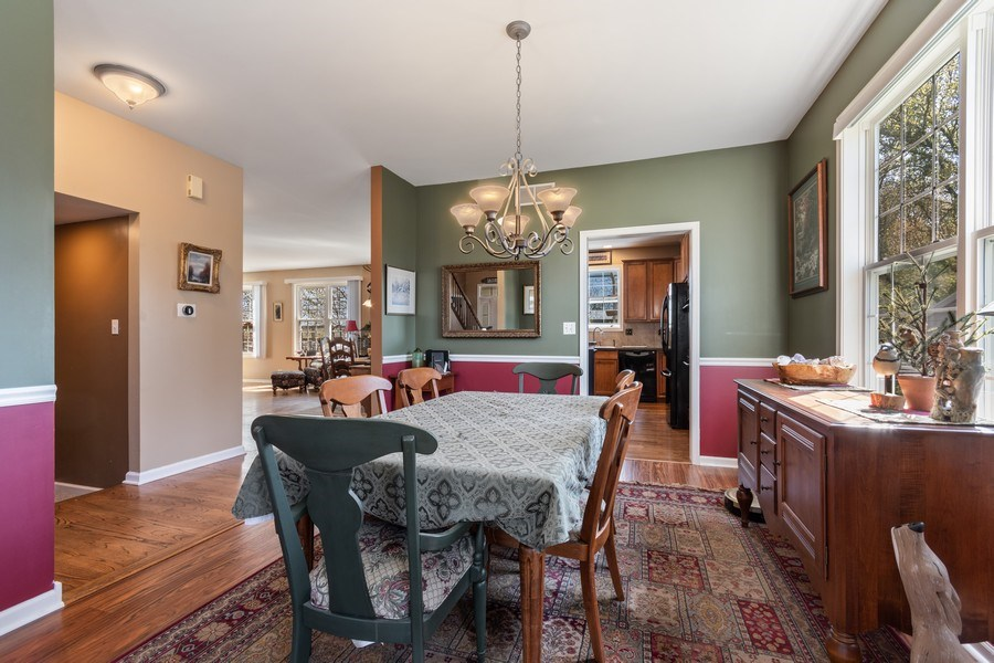 Real Estate Photography - 1407 Blume Drive, Elgin, IL, 60124 - Dining Room