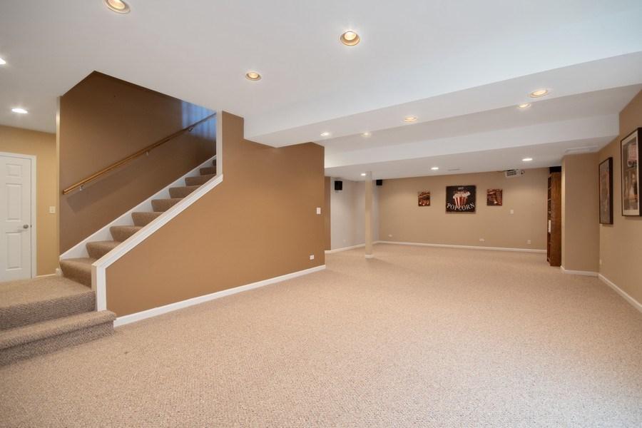 Real Estate Photography - 1407 Blume Drive, Elgin, IL, 60124 - Basement