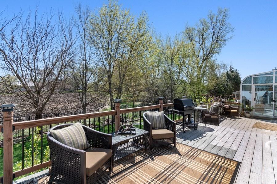 Real Estate Photography - 1407 Blume Drive, Elgin, IL, 60124 - Back Yard